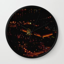 Chicago's Field Museum: A Bird's Eye View (Chicago Architecture Collection) Wall Clock