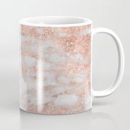Martino rose gold marble Coffee Mug