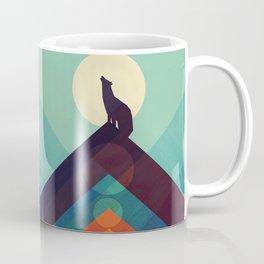 Howling Wild Wolf Coffee Mug