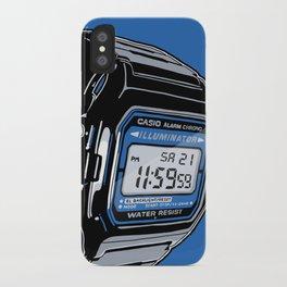 Casio F-105 Digital Watch iPhone Case