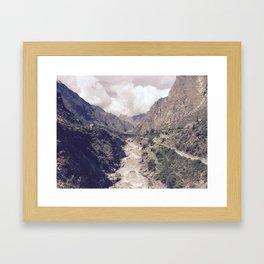 Kilometer 82 Framed Art Print