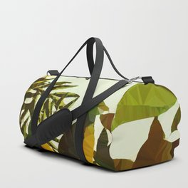 Bird in Tropical Jungle After Rousseau Duffle Bag
