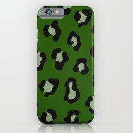cheetah cheetah kelly green iPhone Case