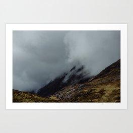Glencoe. Art Print