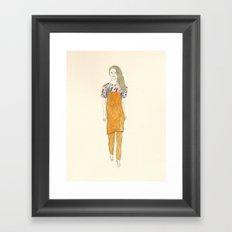 CHALAYAN 2012-13AUTUM&WINTER  Framed Art Print