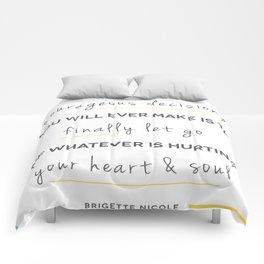 Heart & Soul Comforters