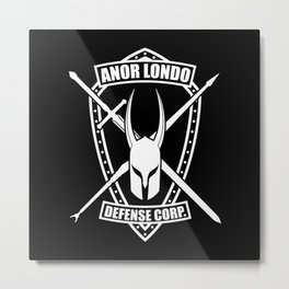 Anor Londo Defense Corp Metal Print
