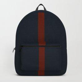vermilion line Backpack
