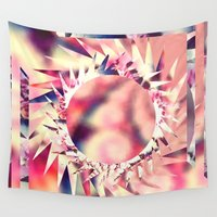trippy Wall Tapestries featuring Trippy  by Pink Berry Patterns