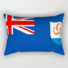 Anguilla flag Rectangular Pillow