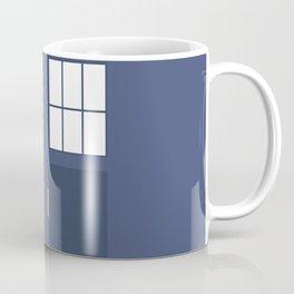 Smaller On The Outside Tardis Coffee Mug
