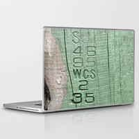 code Laptop & iPad Skins featuring Code  by Ethna Gillespie
