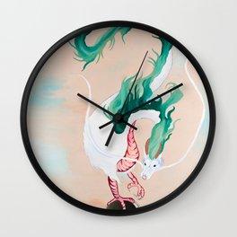 The River Spirit Wall Clock