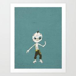 Monkey Buisness Art Print