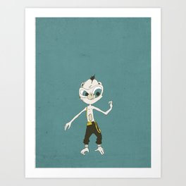 Monkey Buisness Art Print