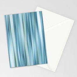 Stripes light blue Stationery Cards