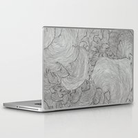 the strokes Laptop & iPad Skins featuring Strokes by Sarah Renee G.
