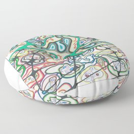 Virus Floor Pillow