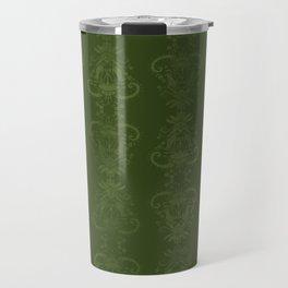 Carnivorous Damask (Lime) Travel Mug
