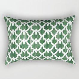 Al-Hamra gardens Rectangular Pillow