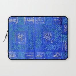 Blue Series_Block Print II Laptop Sleeve