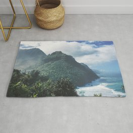 Na Pali Coast Kauai Hawaii Rug