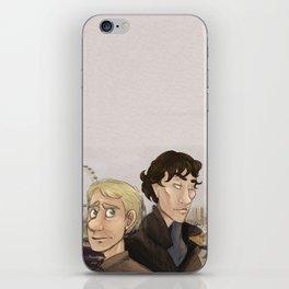 Sherlock and Watson. iPhone Skin