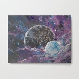 Coruscant and Hesperidian Metal Print