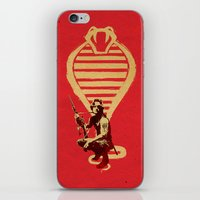 snake iPhone & iPod Skins featuring Snake by Robert Farkas