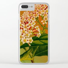 Floral Branch Clear iPhone Case