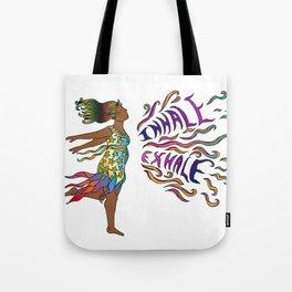 Curvy Goddesses Breathe Tote Bag