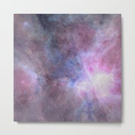 The Purple Density Of The Universe Metal Print