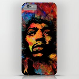 Hendrix - Vibrations Lines iPhone Case