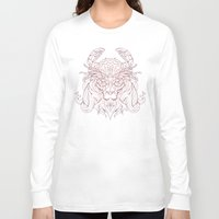 crab Long Sleeve T-shirts featuring Lion Crab by Mike Koubou