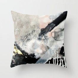 Saponification Abstraction Throw Pillow