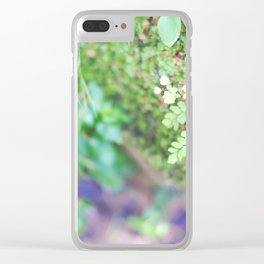 Life in the Undergrowth 02 Clear iPhone Case
