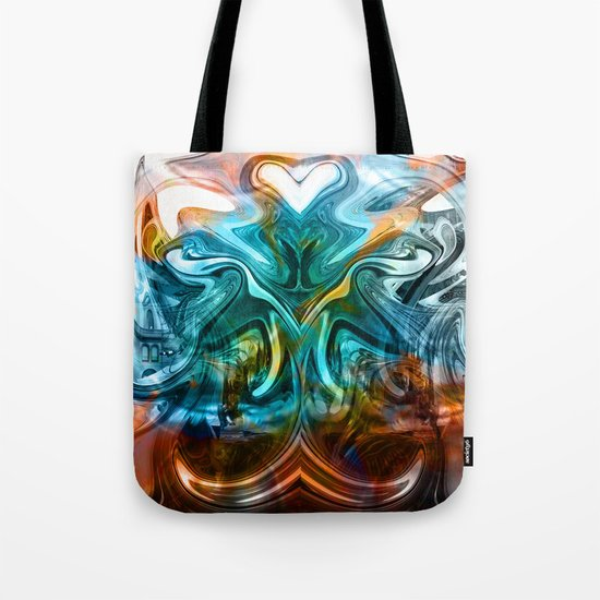 liquified time Tote Bag