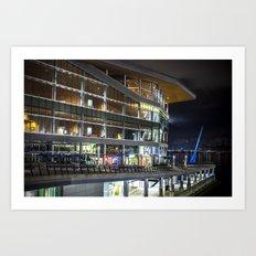 Convention Centre Art Print