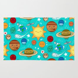Planet party Rug