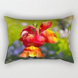 The Snap Dragon. Rectangular Pillow