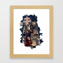 Ignis Fatuus Framed Art Print