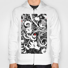 Abstract floral ornament Hoody