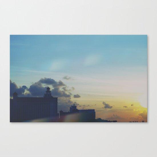 Sunset Craving Canvas Print