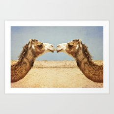 Love and Affection Art Print