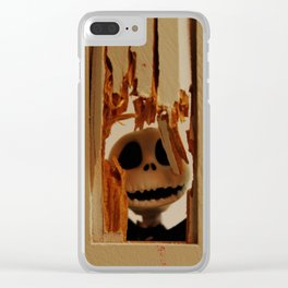 Here's Johnny Clear iPhone Case