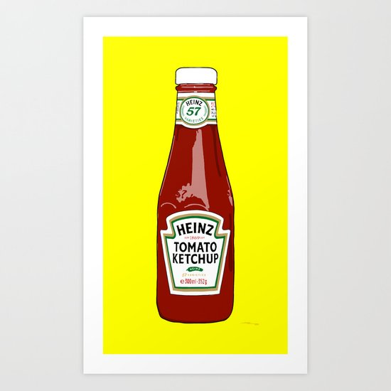 1 of 57 flavours Art Print