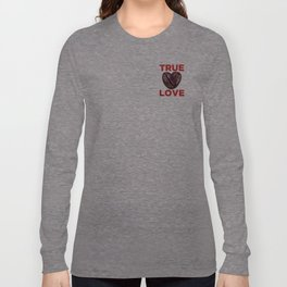 Coffee is Love - Red Long Sleeve T-shirt