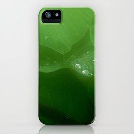 jungle gems iPhone Case