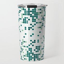 Tiny circles gradient Travel Mug
