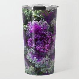 Flowering Cabbage Travel Mug